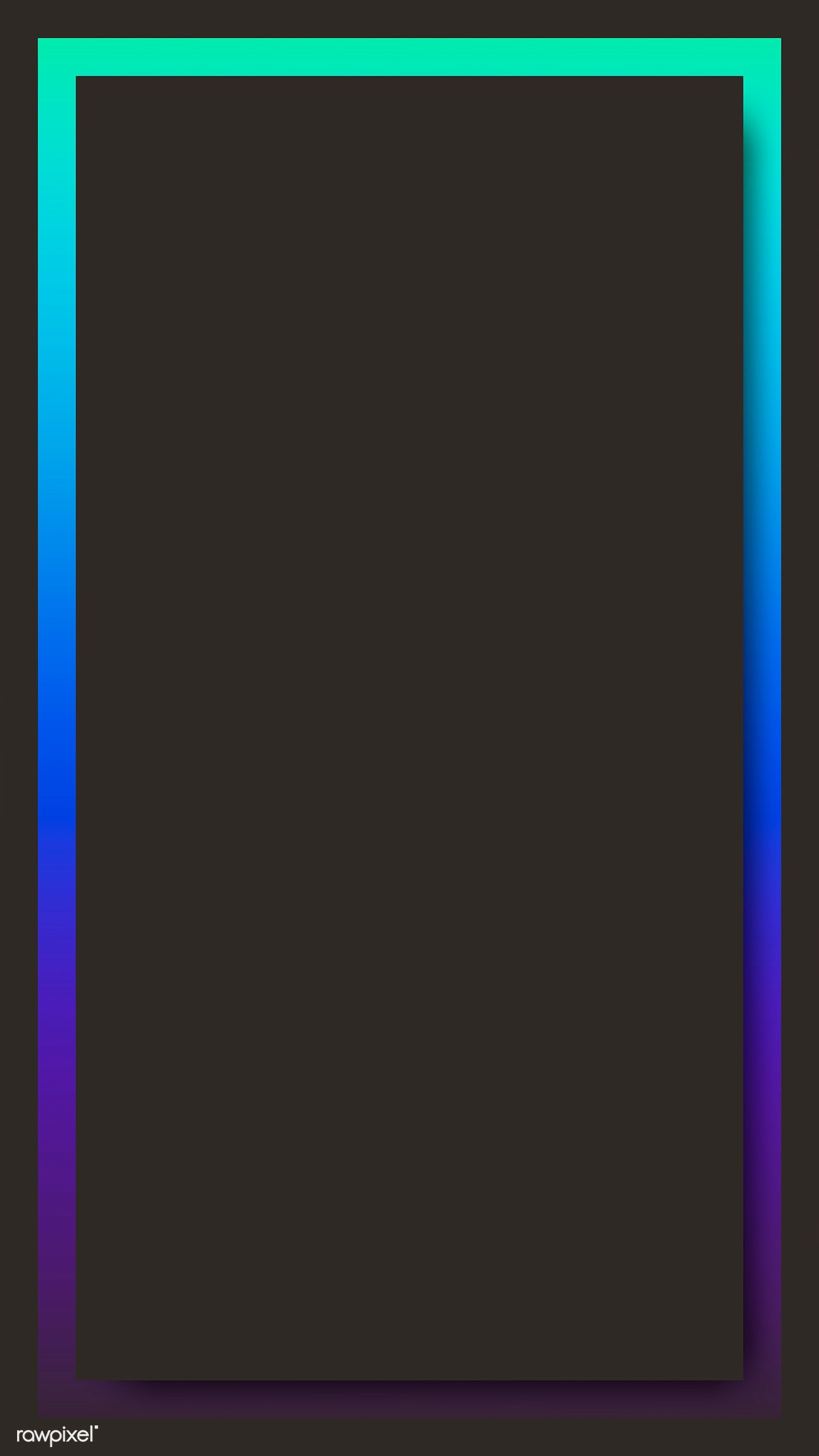 Download Premium Vector Of Blue And Purple Holographic Pattern Frame