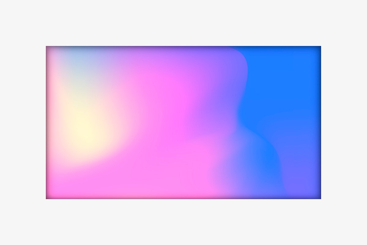 Pastel holographic pattern background vector