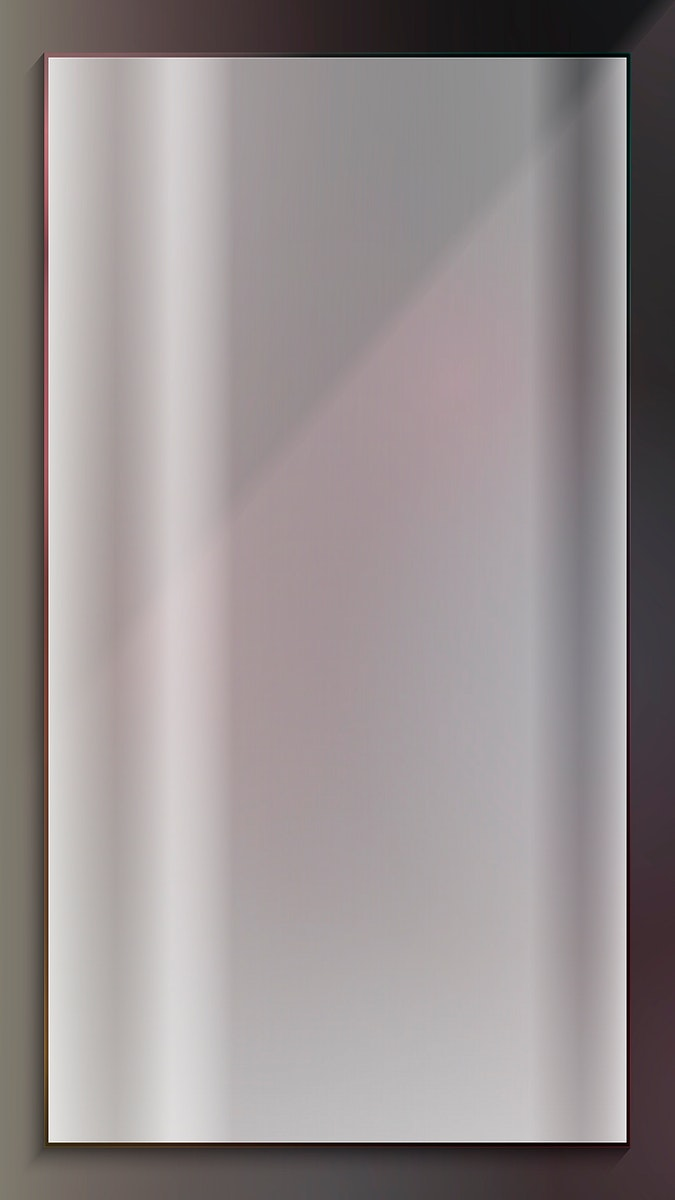 Blank gray rectangle frame mobile phone wallpaper vector