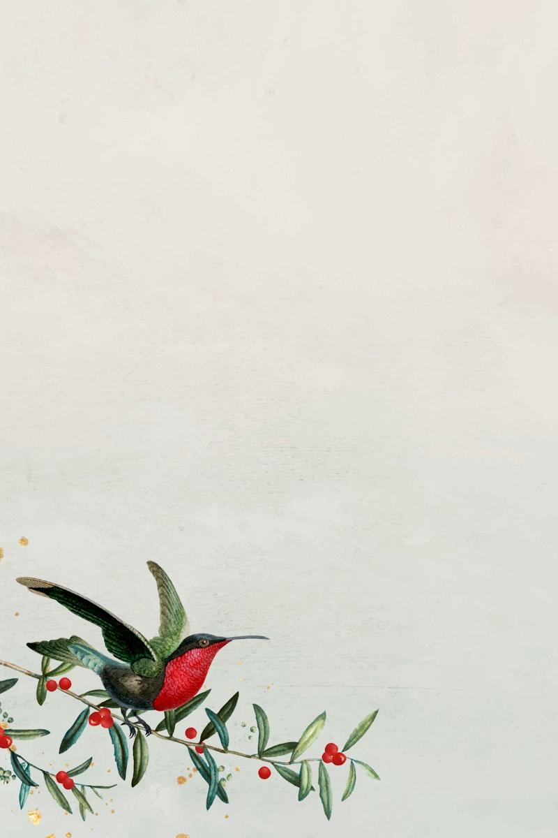 Festive Christmas frame design vector