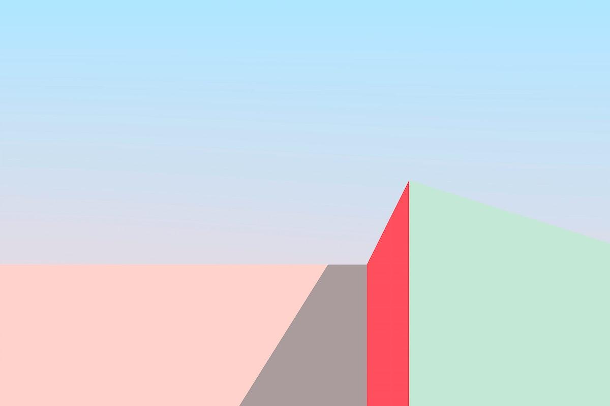 Minimal shadows by a wall vector