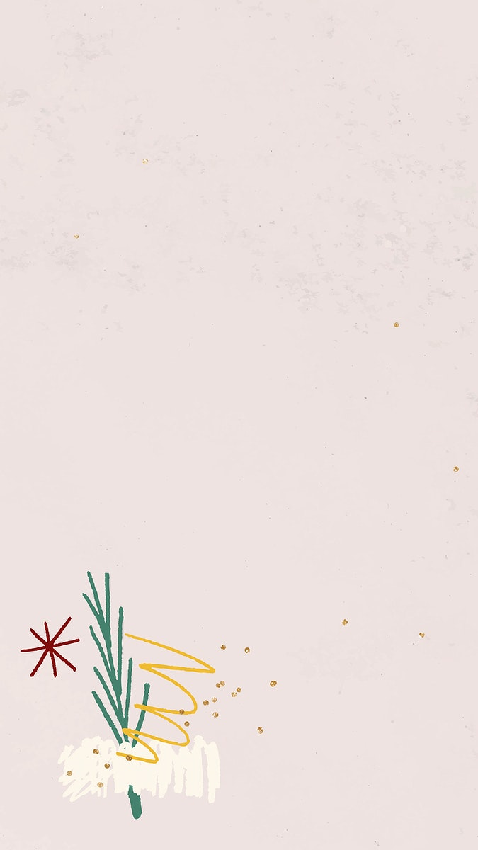 Christmas scribble pattern background vector
