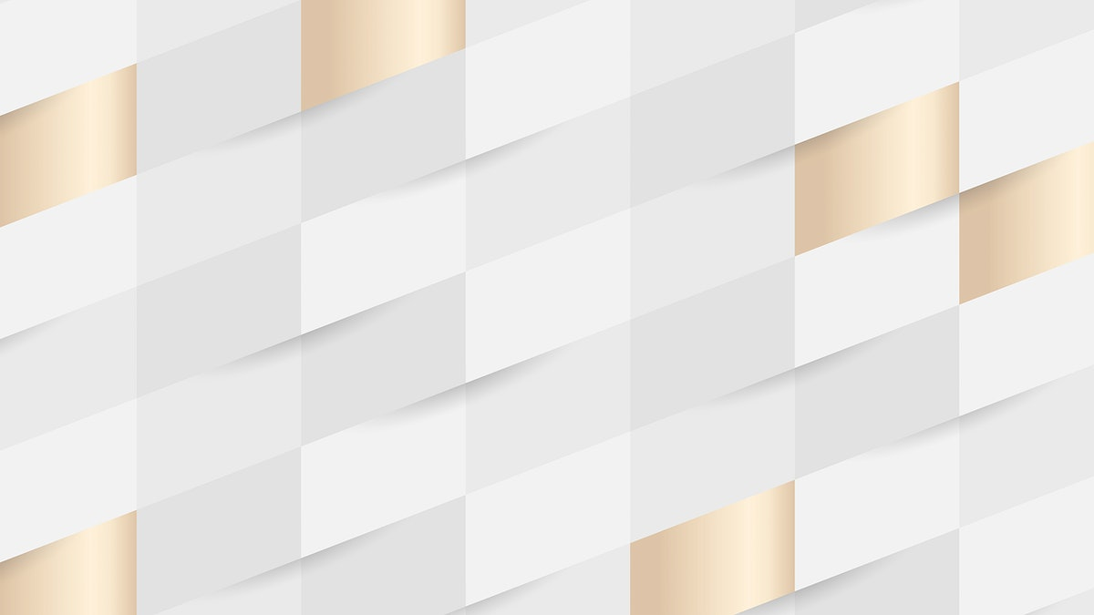 White and gold seamless weave pattern background vector