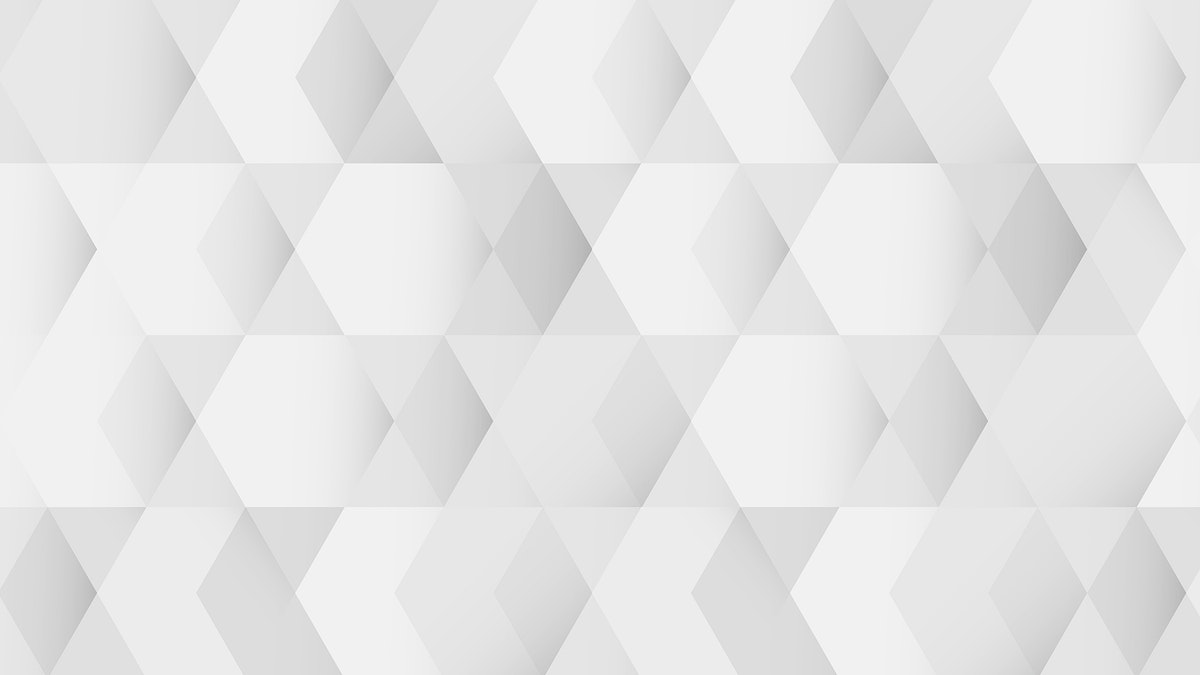 White and gray geometric pattern background mobile phone wallpaper vector
