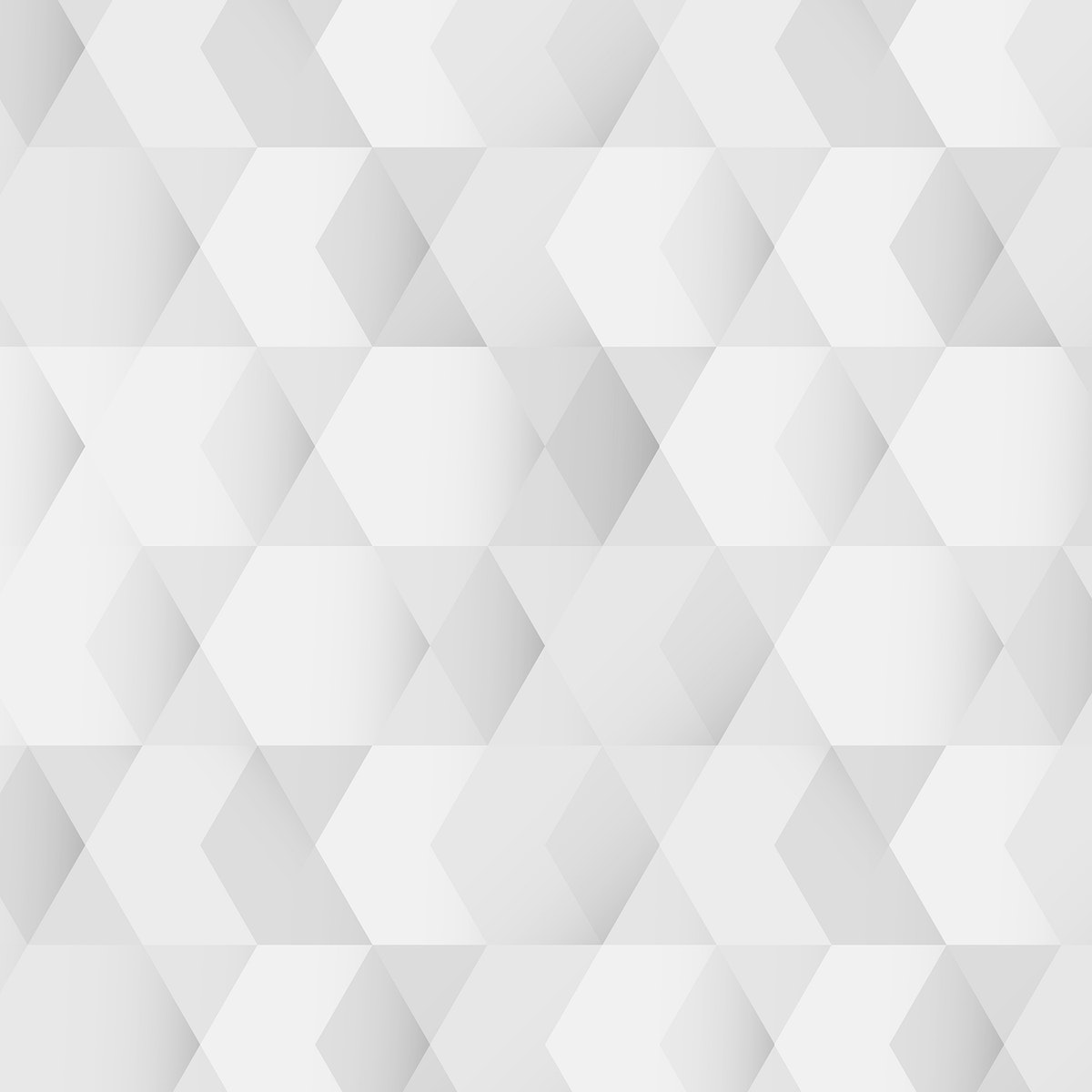 White and gray geometric pattern background vector
