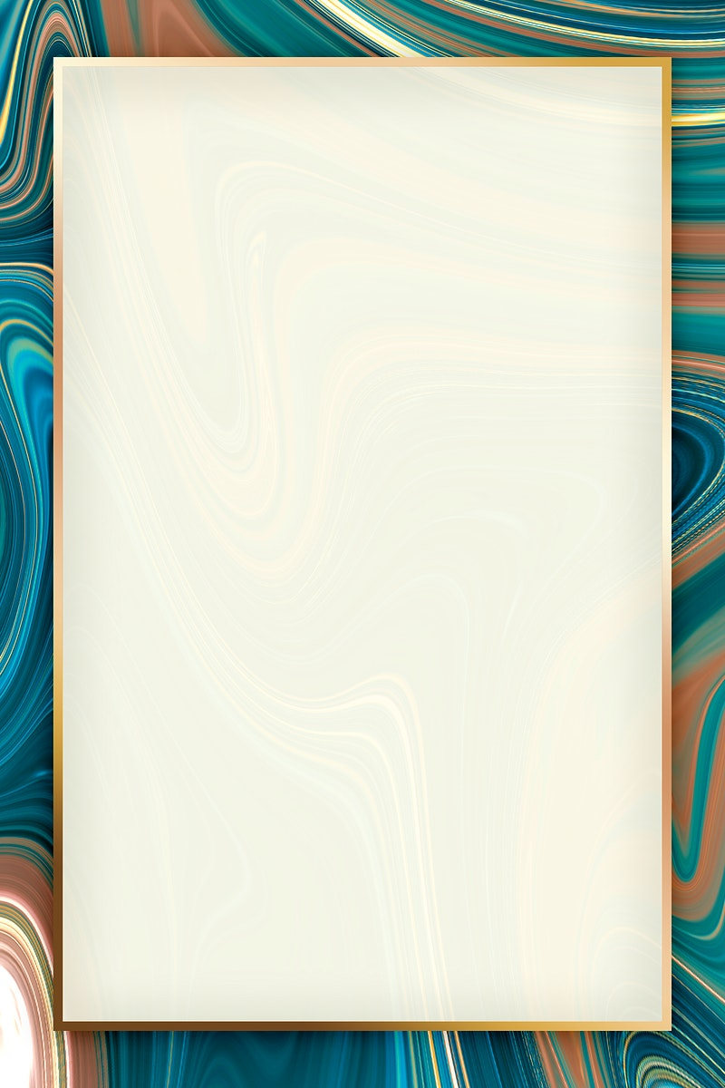 Fluid golden rectangle frame design
