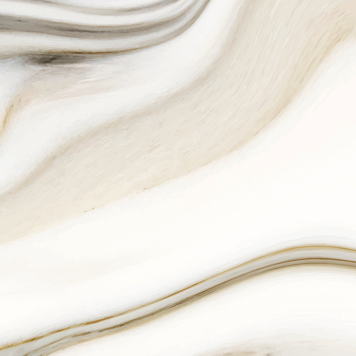 Beige fluid textured social ads template vector