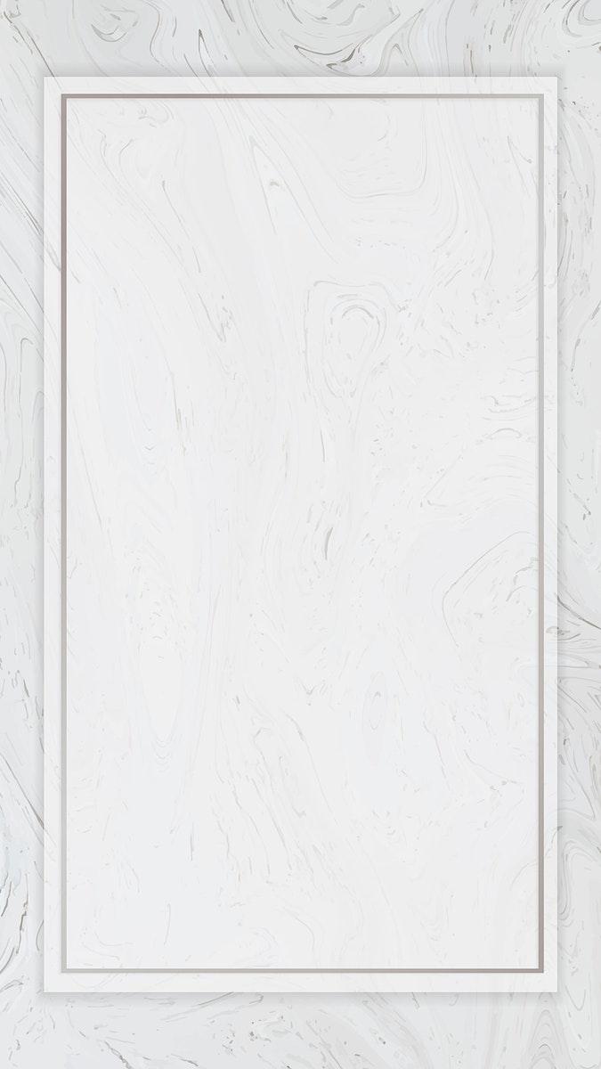 Fluid gray rectangle mobile phone wallpaper vector