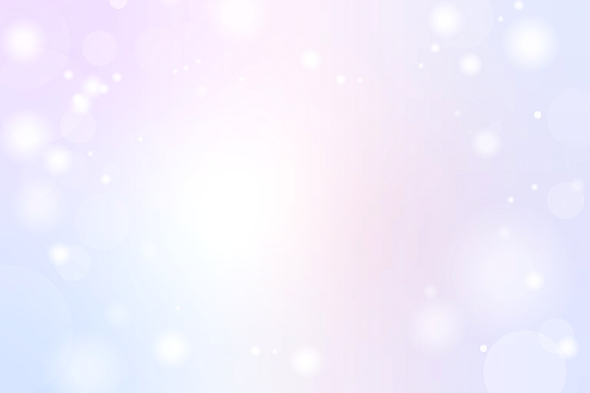 Blue and pink gradient with Bokeh light background vector