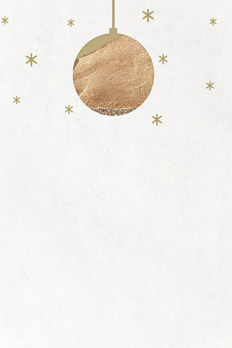 New Year gold ball with shimmering star lights vector