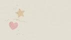 Glitter heart and star background design illustration
