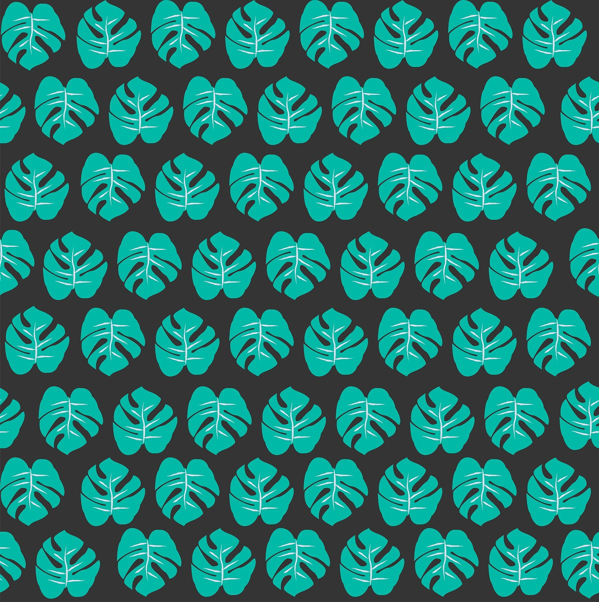 Different style leaves vector