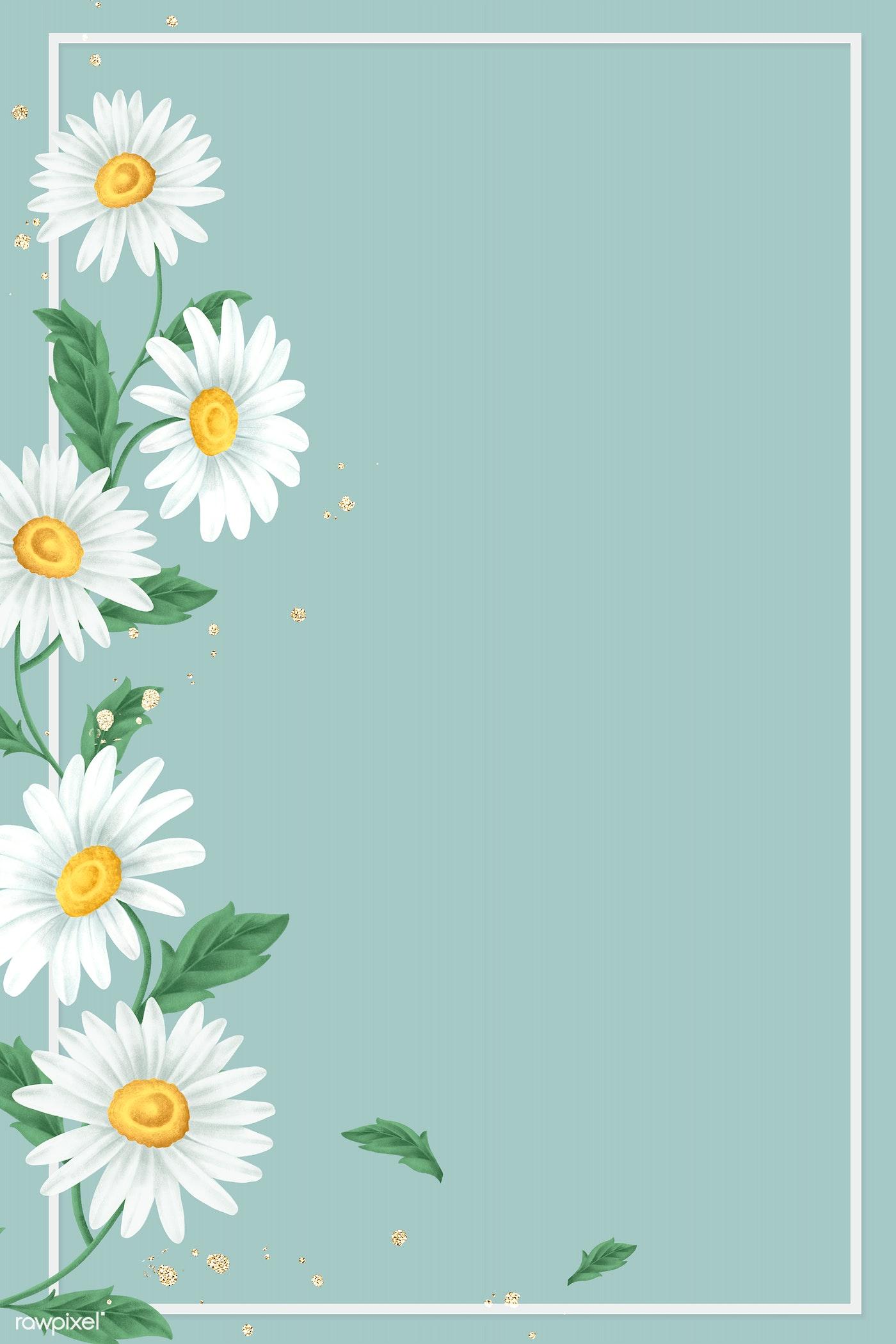 Blank Floral Frame Royalty Free Illustration 2091345