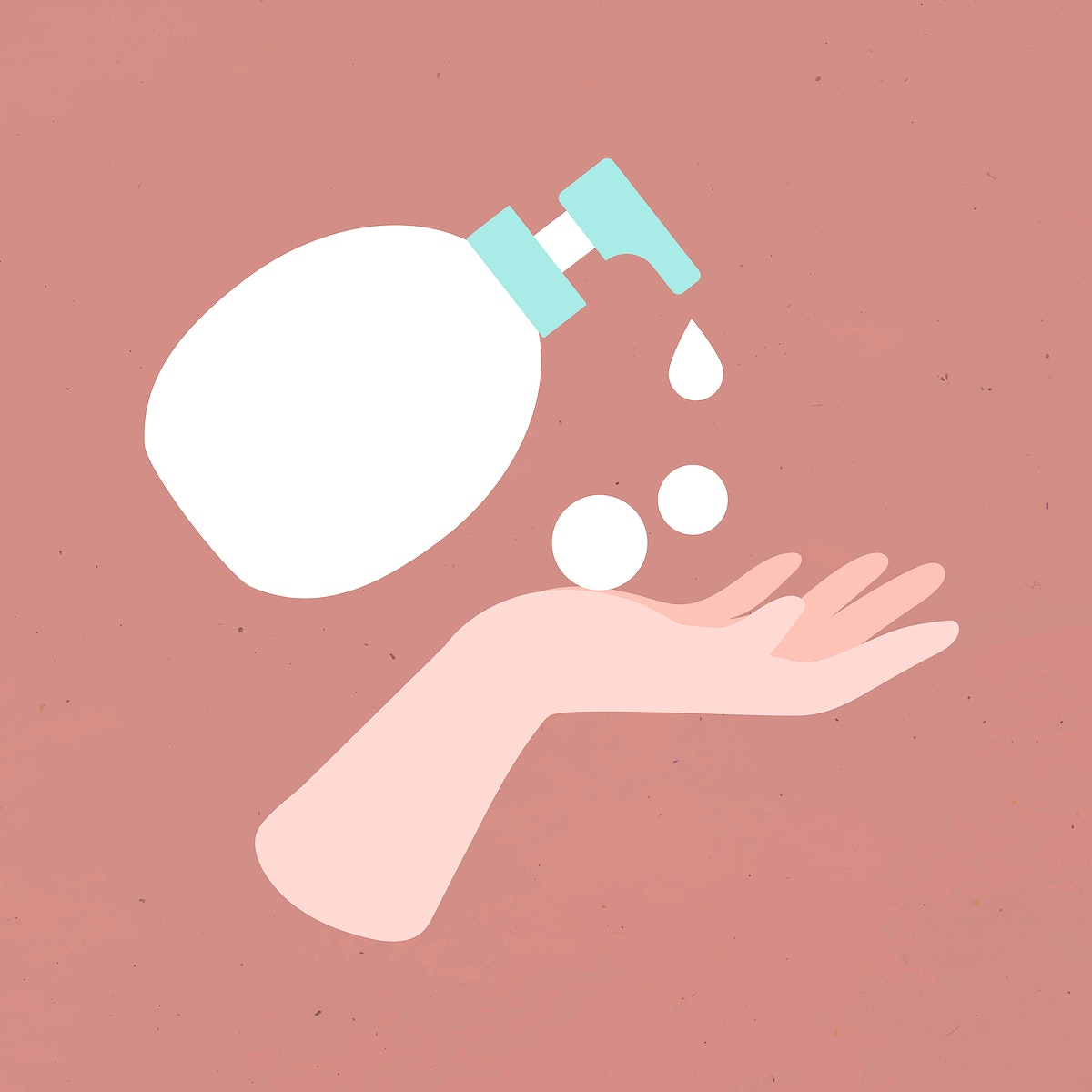 Wash hands with soap and water vectork