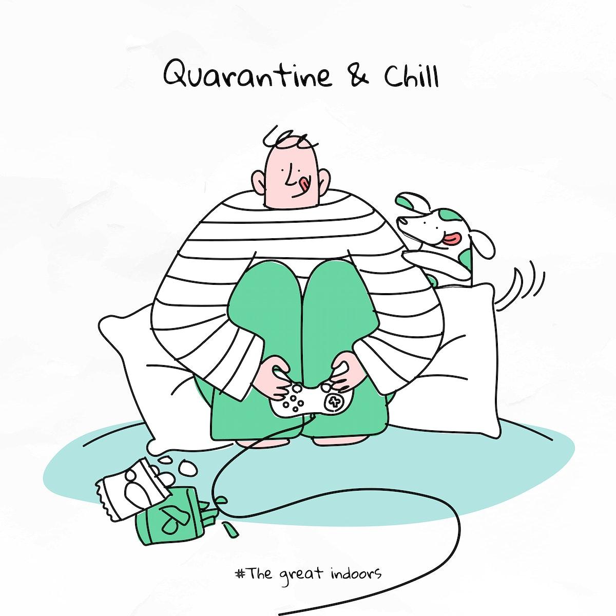 Quarantine and chill coronavirus vector