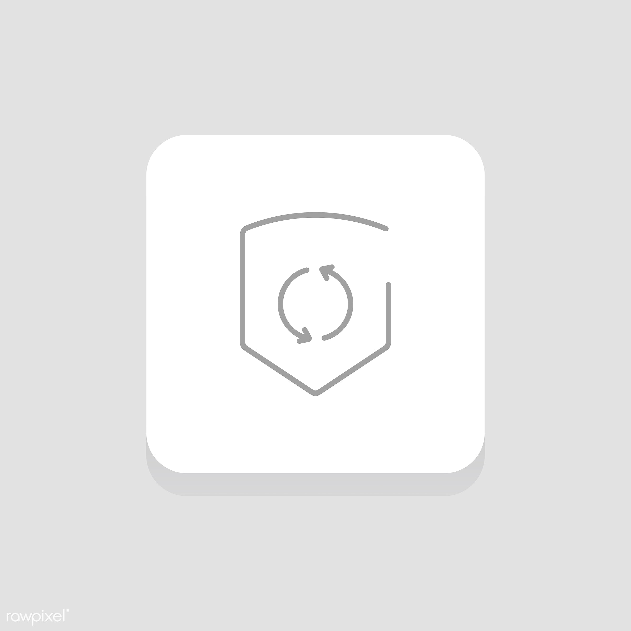 Vector of shield icon - shield, design, flat, graphic, icon, illustration, isolated, layout, style, symbol, vector, web,...
