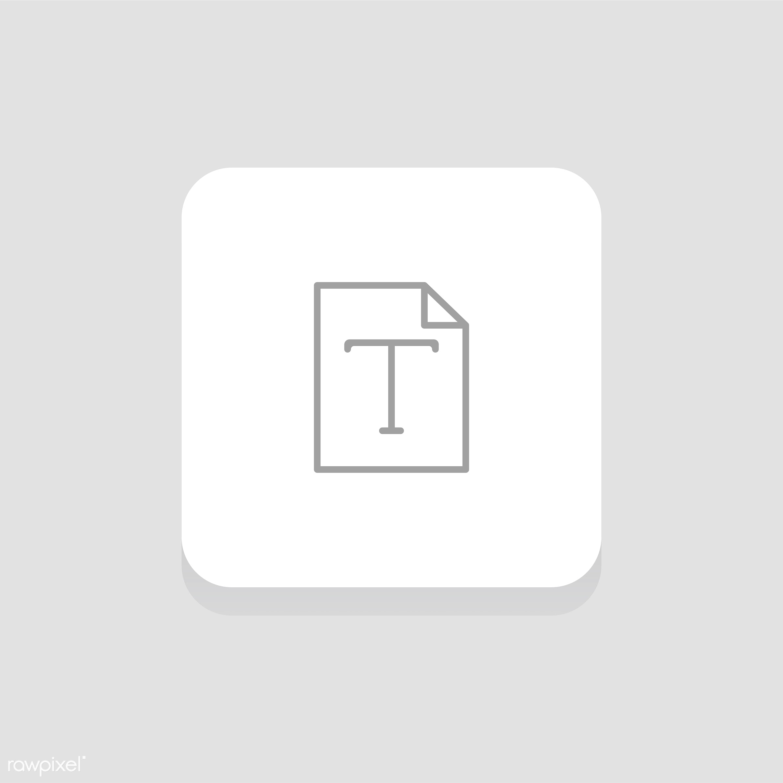Vector set of website icons - align, data, design, edit, editor, flat, fonts, graphic, icon, illustration, instruments,...