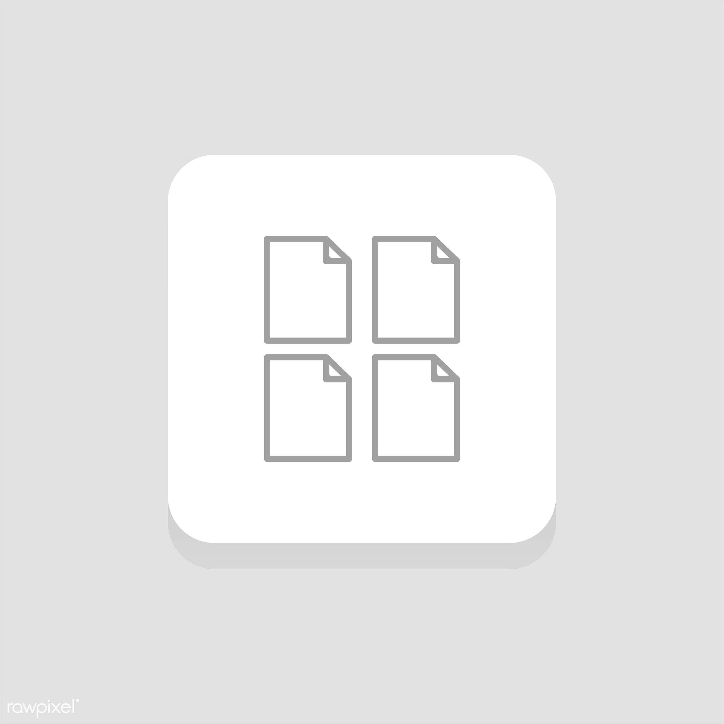 Vector set of website icons - align, data, design, document, flat, graphic, icon, illustration, information, isolated,...