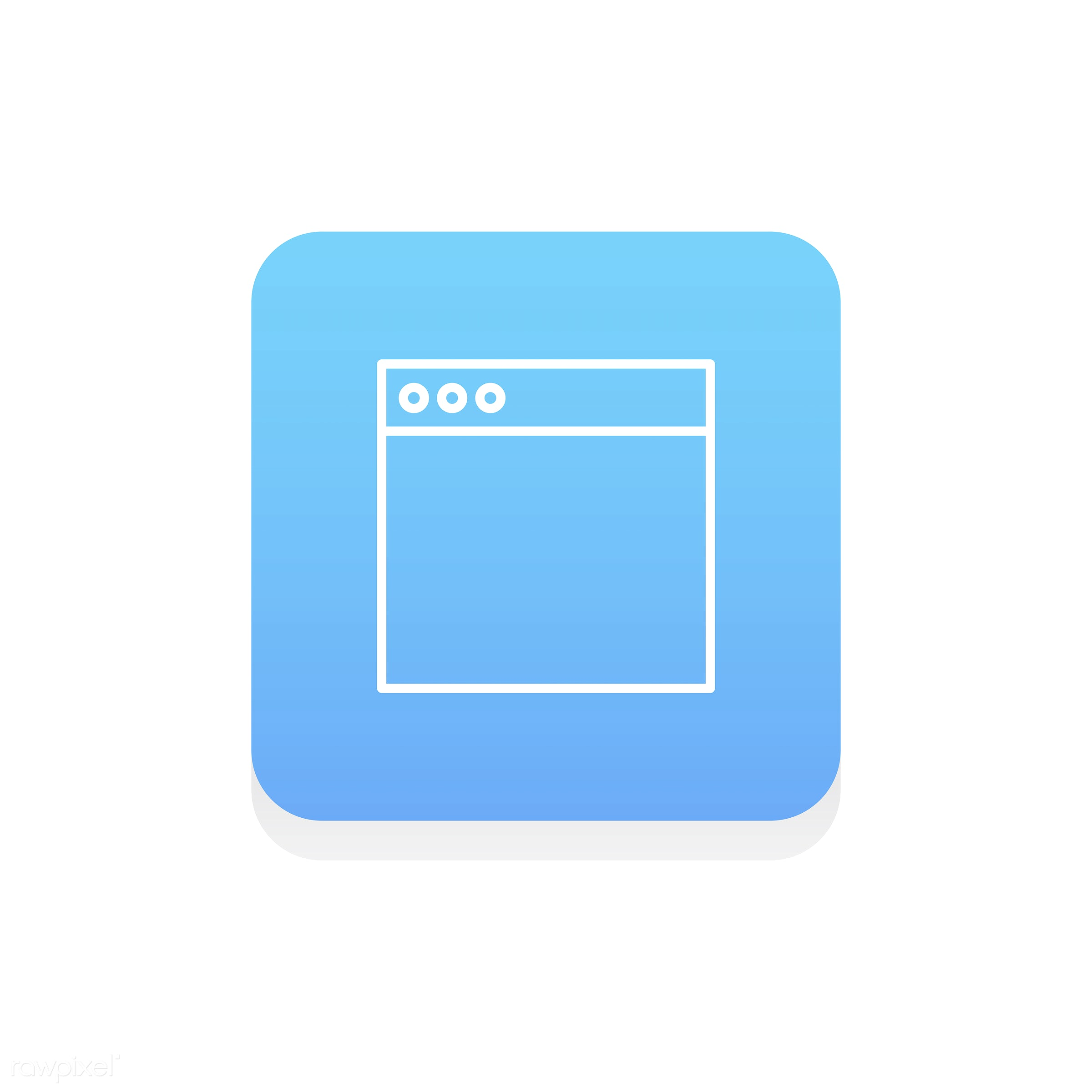 Vector of website layout icon - design, flat, graphic, icon, illustration, isolated, layout, program, style, symbol, vector...