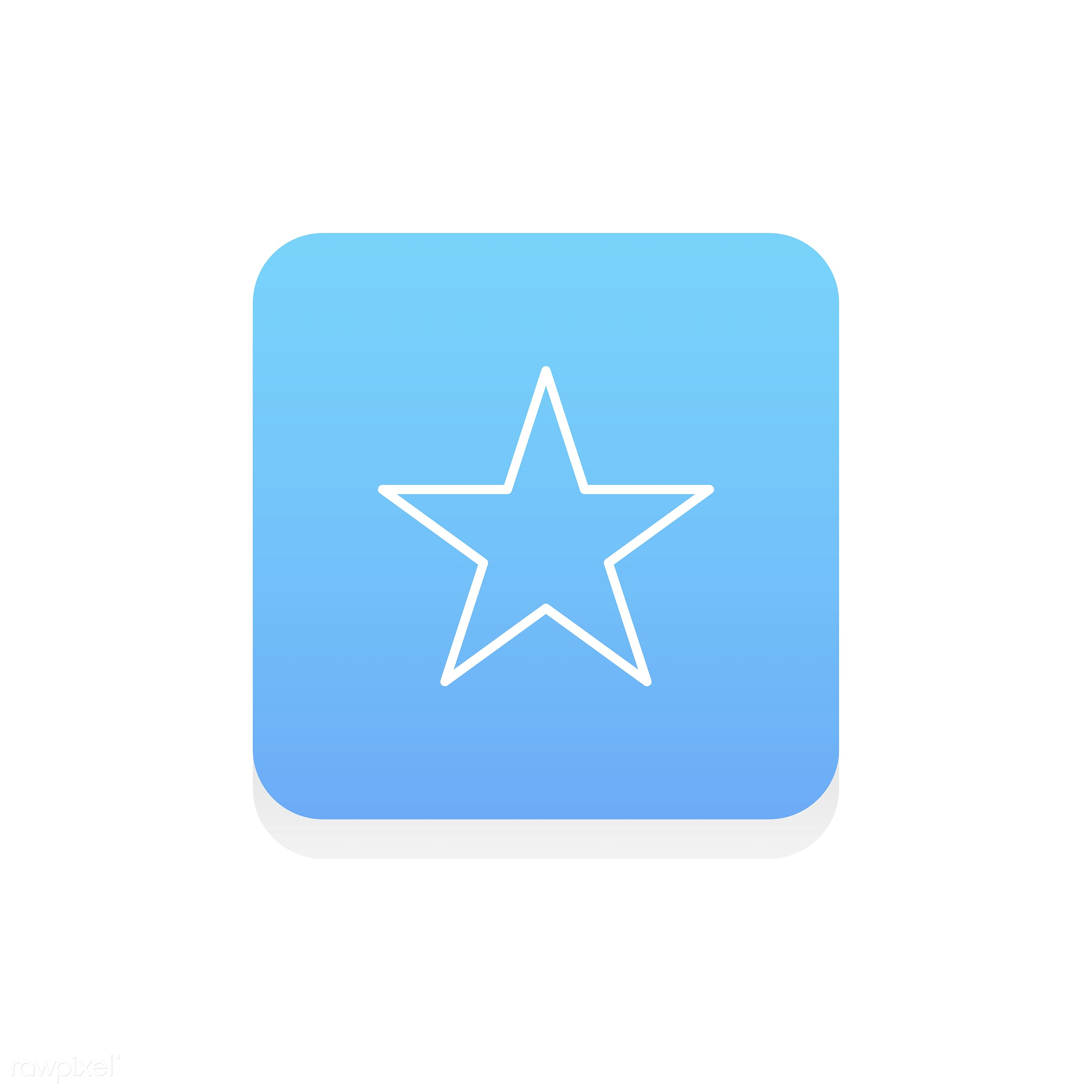 Vector of star icon - star, design, flat, graphic, icon, illustration, isolated, layout, style, symbol, vector, web, website...