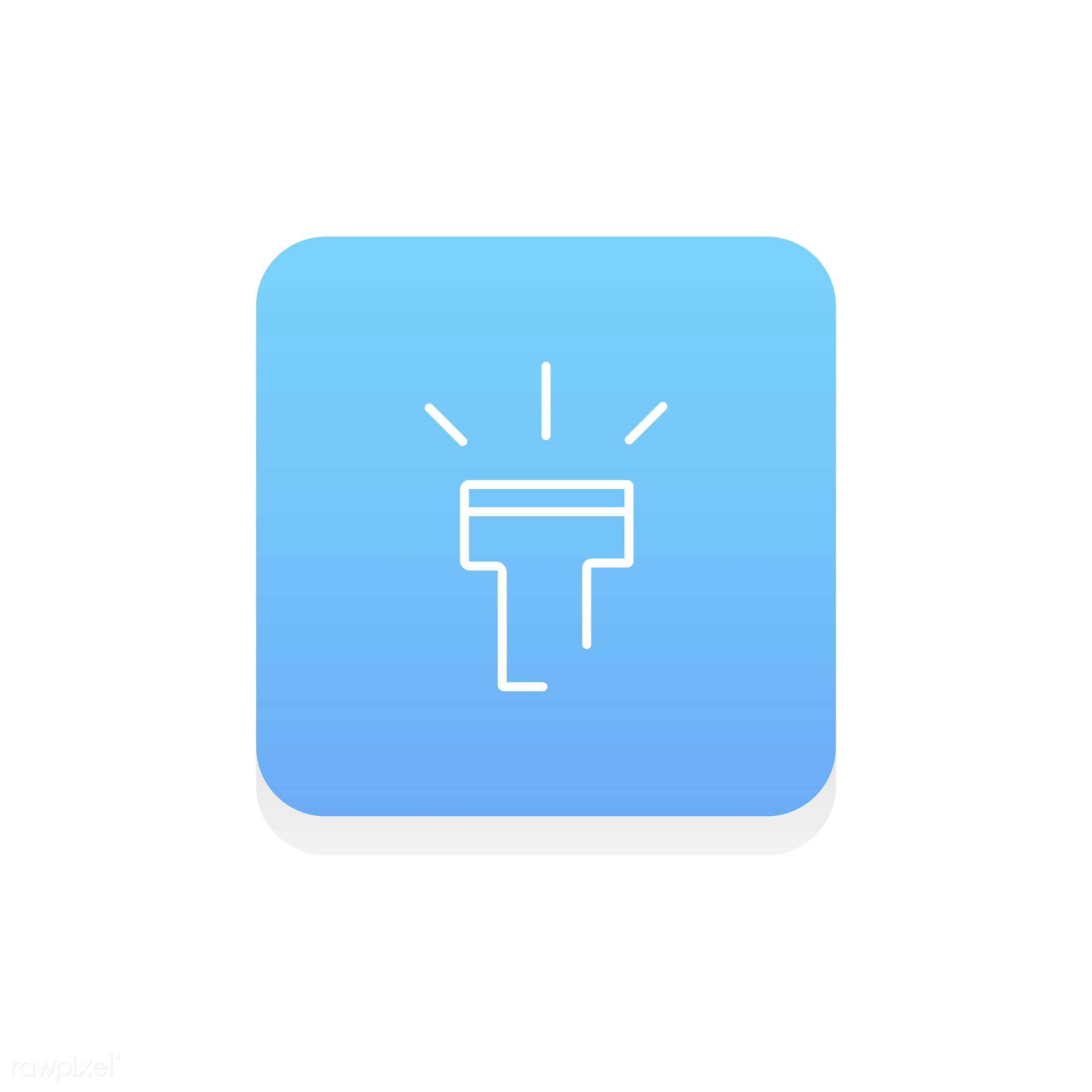 Vector of flashlight icon - adventure, bright, camping, design, energy, equipment, explore, flashlight, flat, graphic, icon...