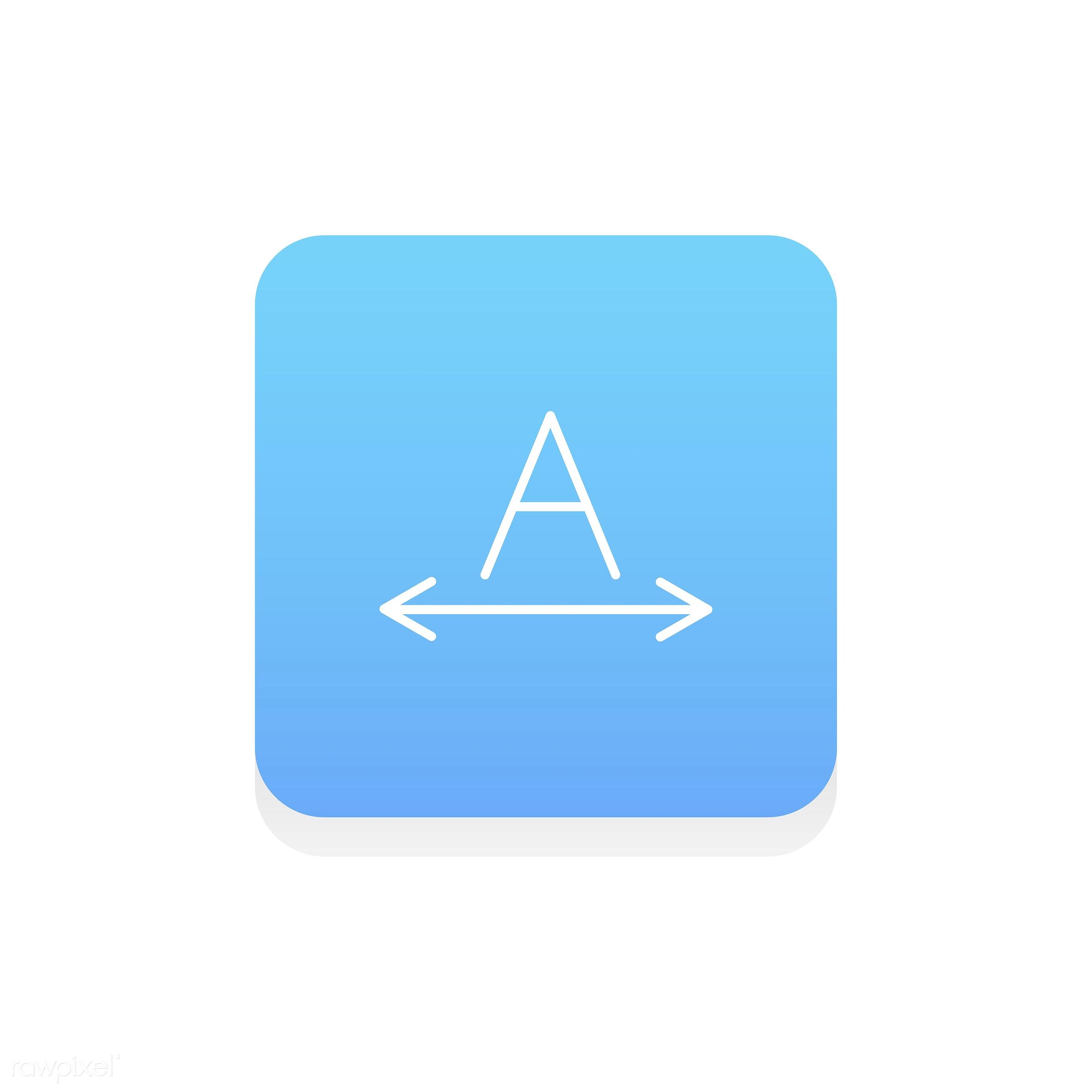 Vector of design edit icon - align, data, design, edit, editor, flat, fonts, graphic, icon, illustration, instruments,...