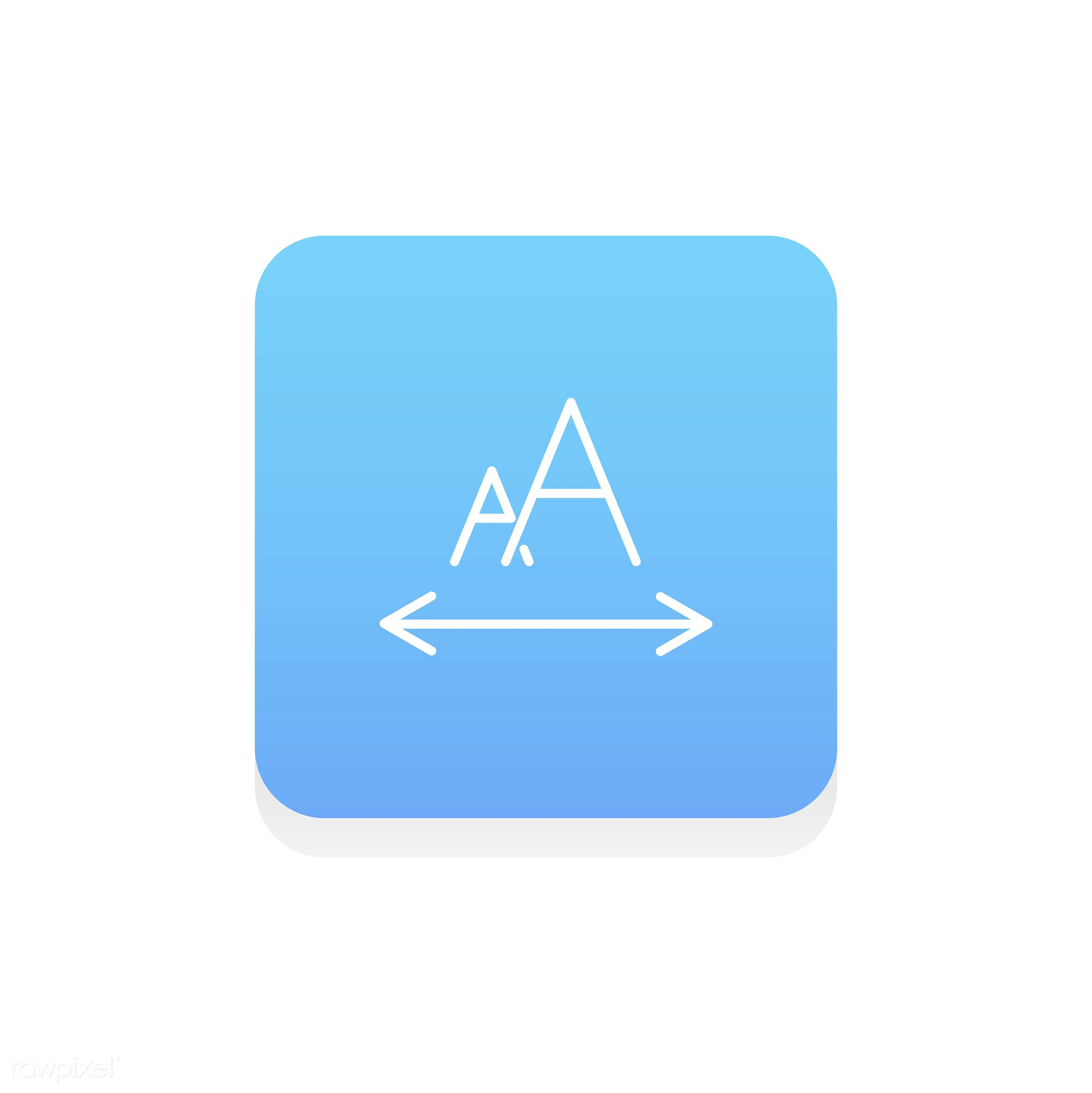Vector of design edit icon - align, data, design, edit, editor, flat, fonts, graphic, icon, illustration, instruments,...