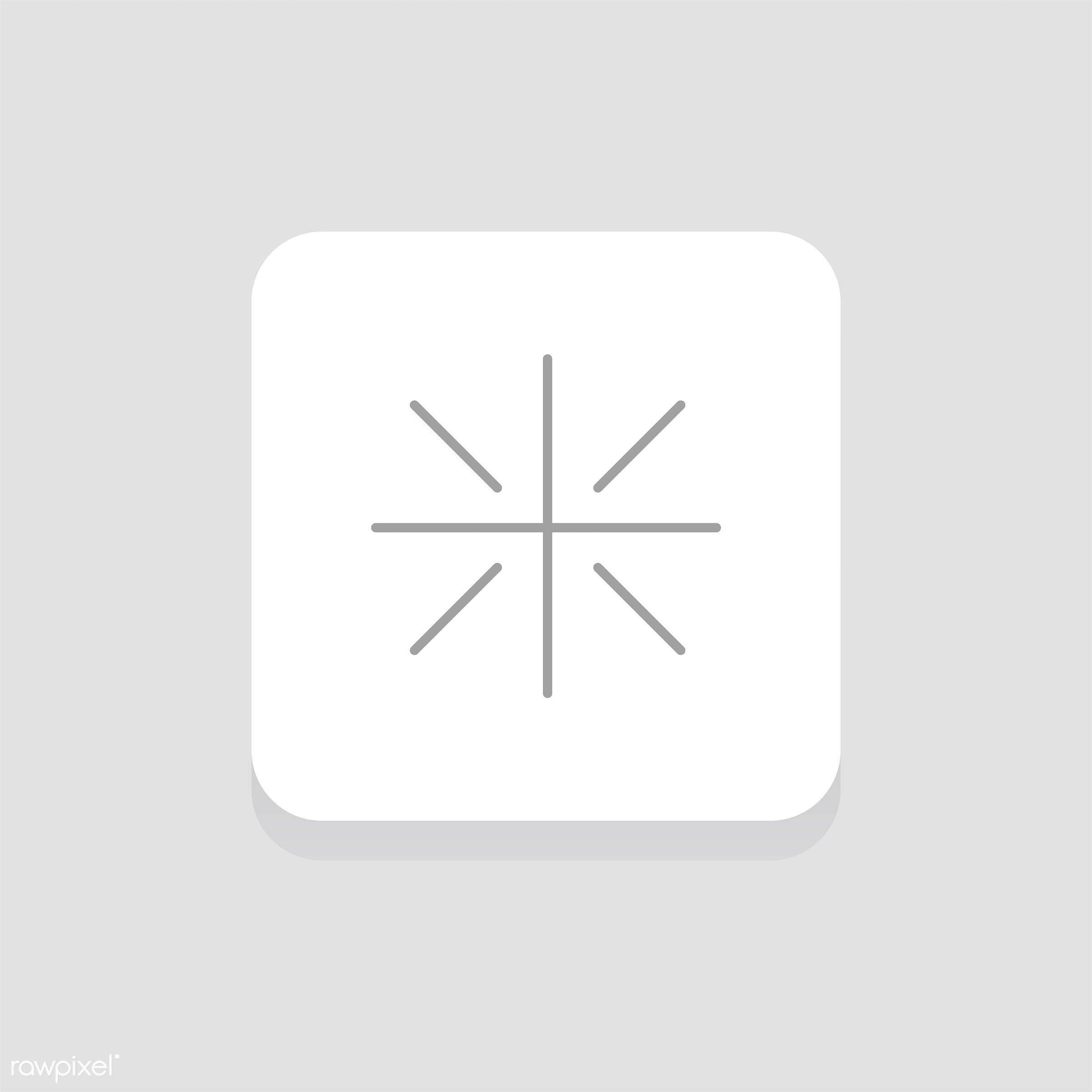 Vector of website icon - button, design, flat, graphic, icon, illustration, isolated, layout, sign, style, symbol, vector,...