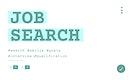 Illustration of career recruitment concept